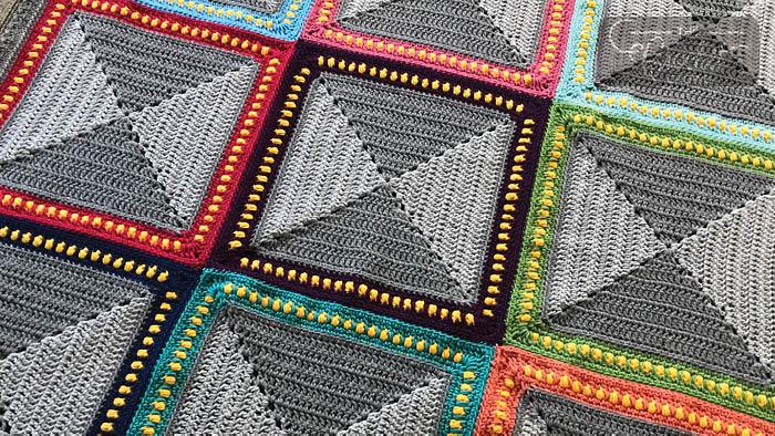 Crochet Broadway Afghan Pattern