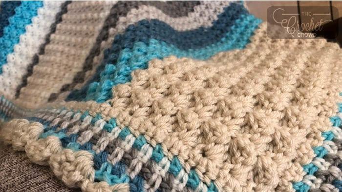 Bubble Pop Baby Blanket by Jeanne Steinhilber