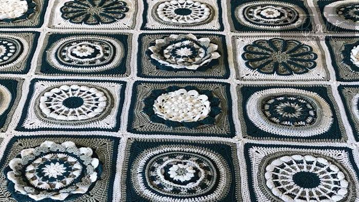 Crochet Flora Afghan
