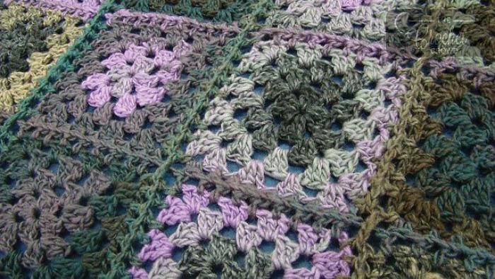 All Double Crochet Afghan | Kristine in between | 394x700