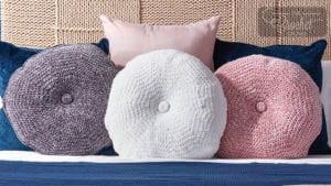 Crochet Tufted Pillows