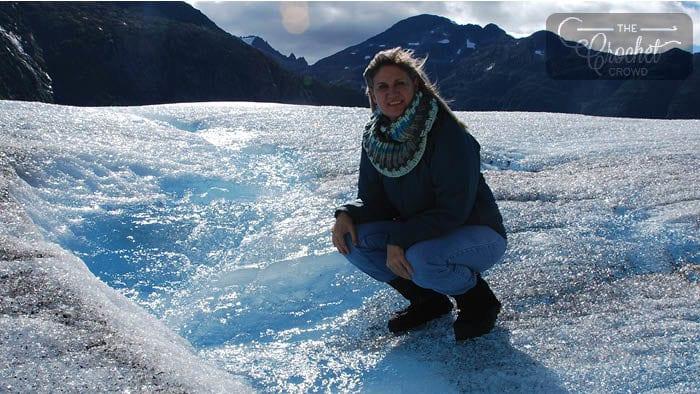 Glacier Cowl by Jeanne Steinhilber