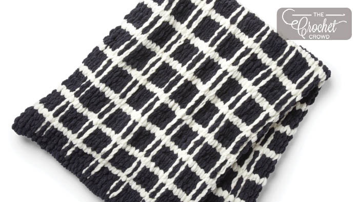Knit Mad for Plaid Blanket Pattern