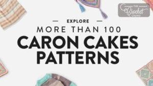 100 Caron Cakes Patterns