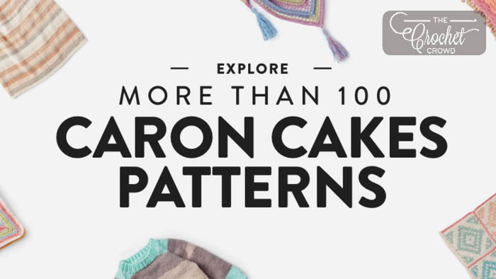 100 Caron Cakes Patterns