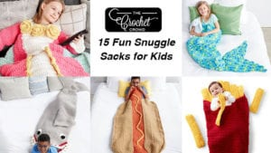 15 Crochet Snuggle Sacks