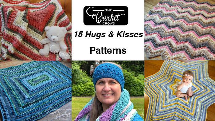 d1c80c1b9fa 15 Crochet Hugs   Kisses Projects