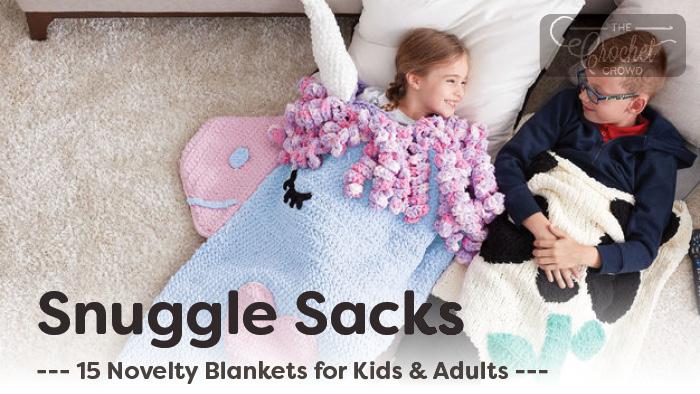 reputable site 7a173 0377e 15 Crochet Snuggle Sacks + Tutorials | The Crochet Crowd
