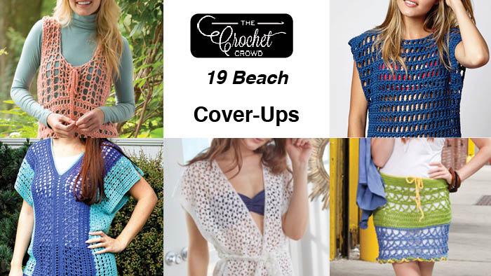 ad7882d225 19 Crochet Beach Cover-ups | The Crochet Crowd