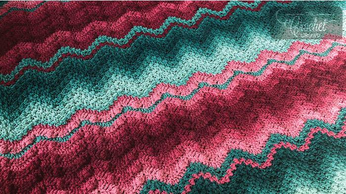 Blended Love Blanket by Jeanne Steinhilber
