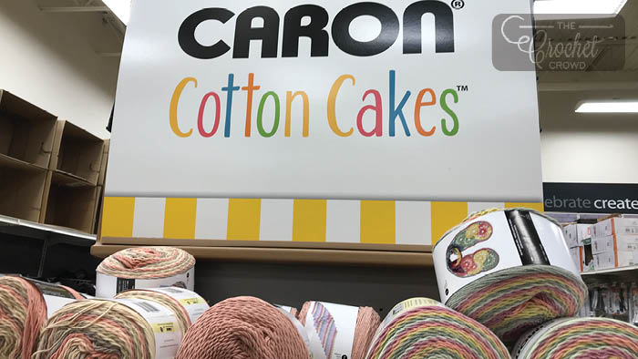 Caron Cotton Cakes at Michaels Stores