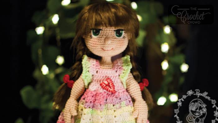Crochet Along Doll Pattern by Papillon en Papier