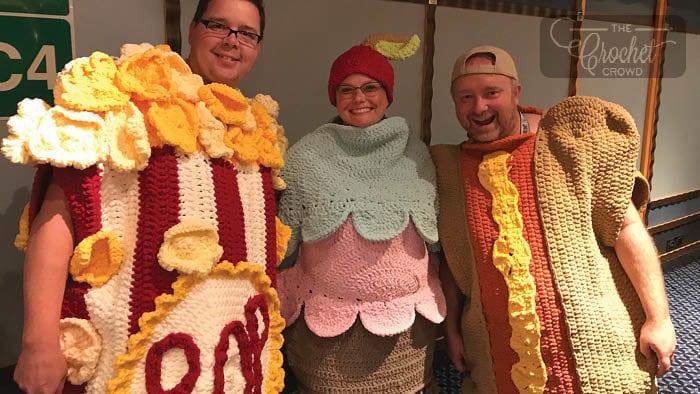 Crochet Costume Snuggle Sacks