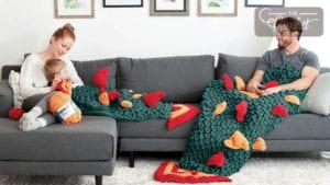 Crochet Skein of Thrones Snuggle Sacks