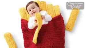 Crochet Small Fry Snuggle Sack