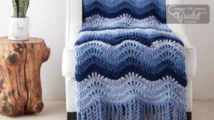 Crochet High Tide Wave Blanket