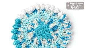 Crochet Scrubbing in the Round Dishcloth