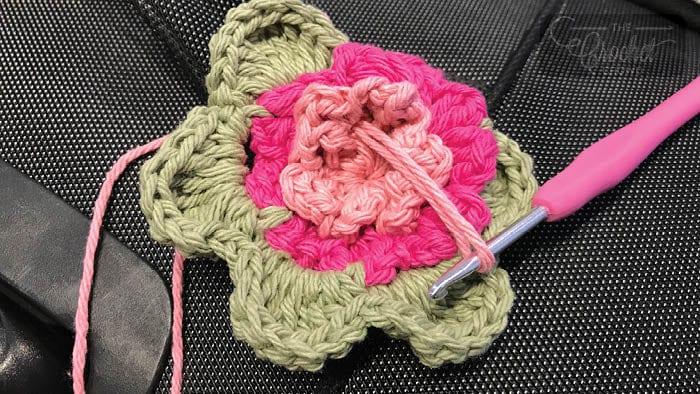 Crochet Luggage Bag Tag