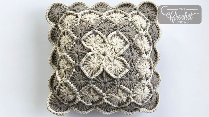 Crochet Bavarian Stitch Pillow Pattern