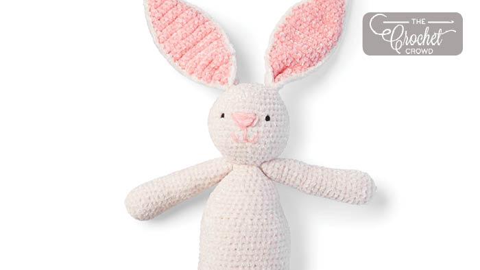 Crochet Velvet Bunny Velvet Pattern