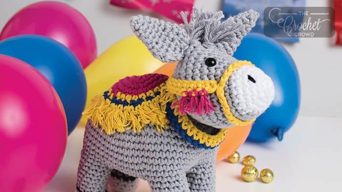 Crochet Burrito the Donkey