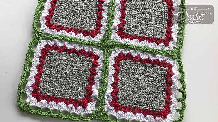 Crochet Celtic Lace Join / Border + Tutorial