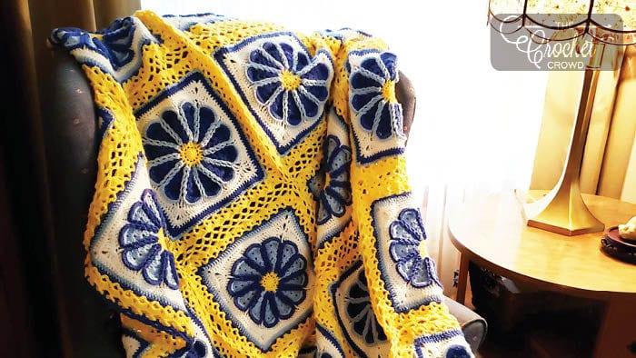 Crochet Celtic Dream Afghan by Michael Sellick & Mary Keys