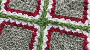 Crochet Celtic Border with Celtic Lace Join