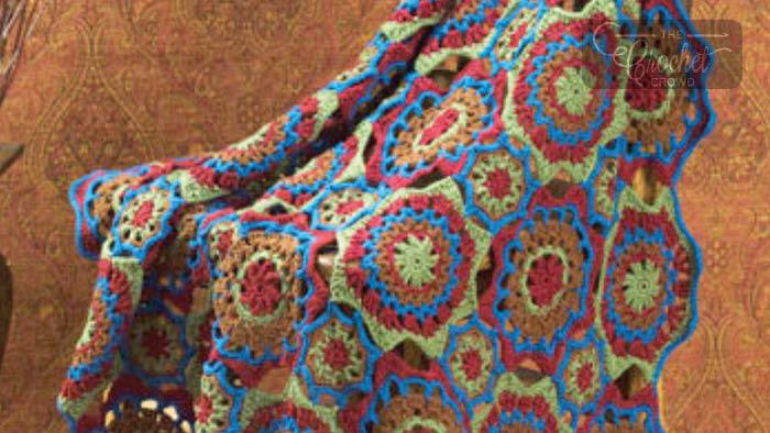 Crochet Tucson Afghan Pattern + Tutorial