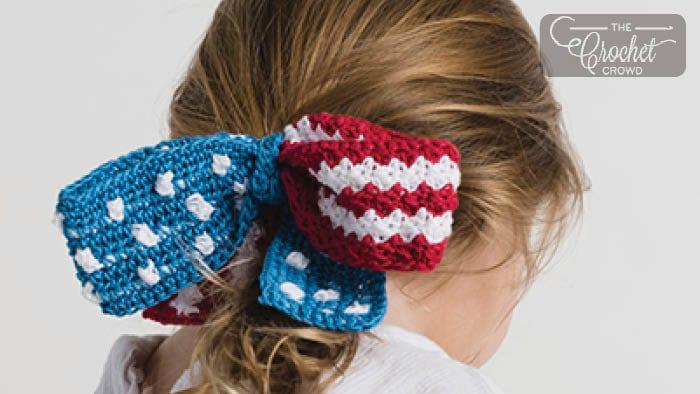 Crochet Liberty Bow