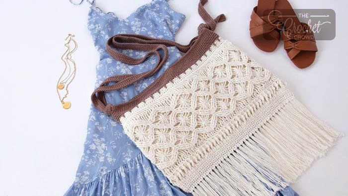 Crochet Mock-Rame Bag