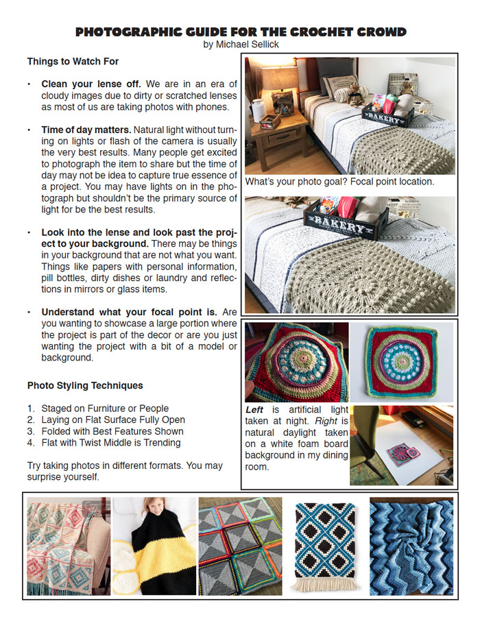 Crochet Photography Guide