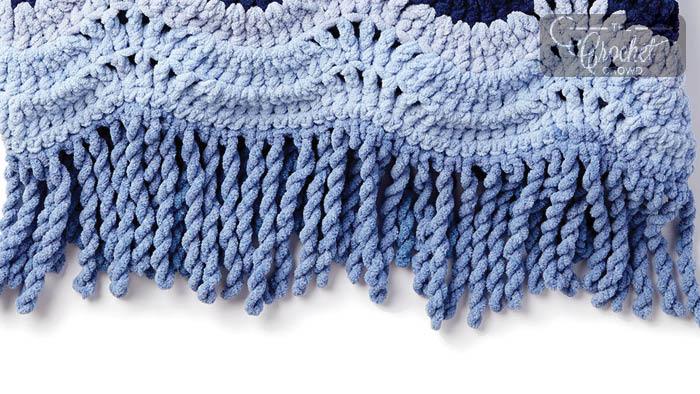 Crochet Twisting Fringe