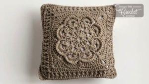 Textured Flower Pillow
