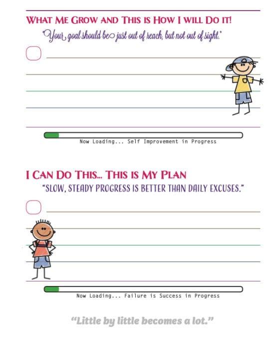 Crochet Goal Planner Details Sheet