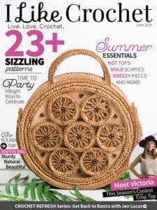 I Like Crochet Magazine June 2019