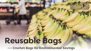 Reusable Crochet Shopping Bags