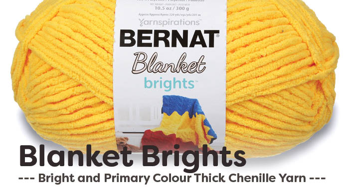What To Do With Bernat Blanket Brights Yarn