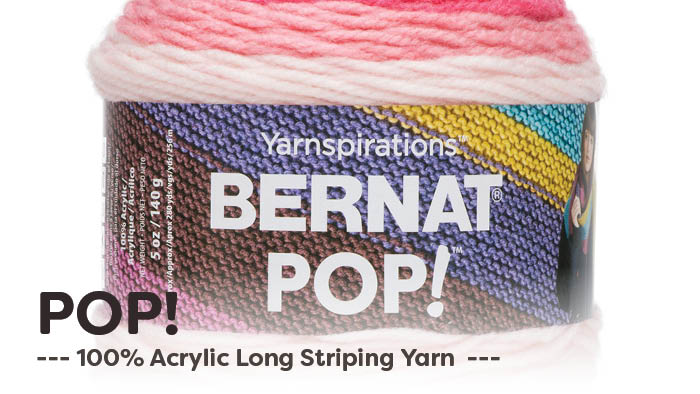 What To Do With Bernat POP! Yarn | The Crochet Crowd