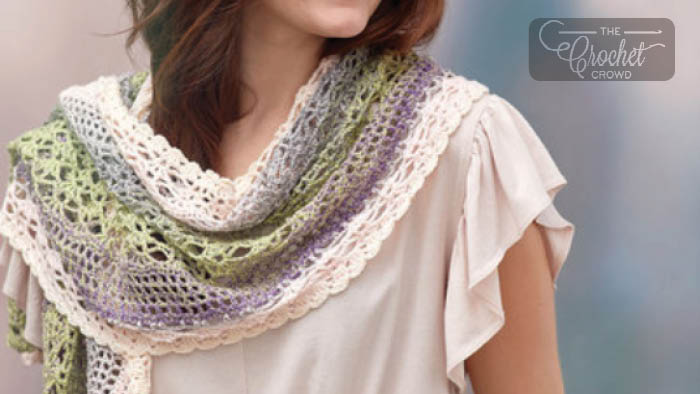 Delicate Shells Crochet Shawl Pattern