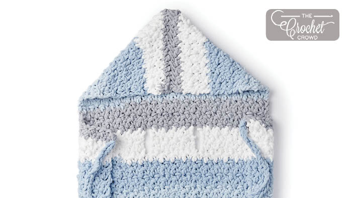 Crochet Stroller Blanket Pattern