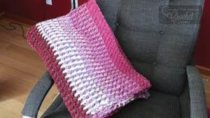 Crochet TV Blanket Lazy Boy