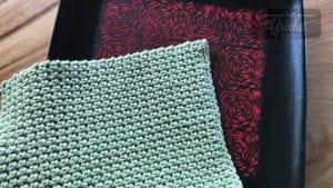 Crochet Thermal Stitch Dishcloth