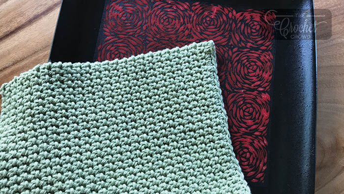 Crochet Thermal Stitch Dishcloth
