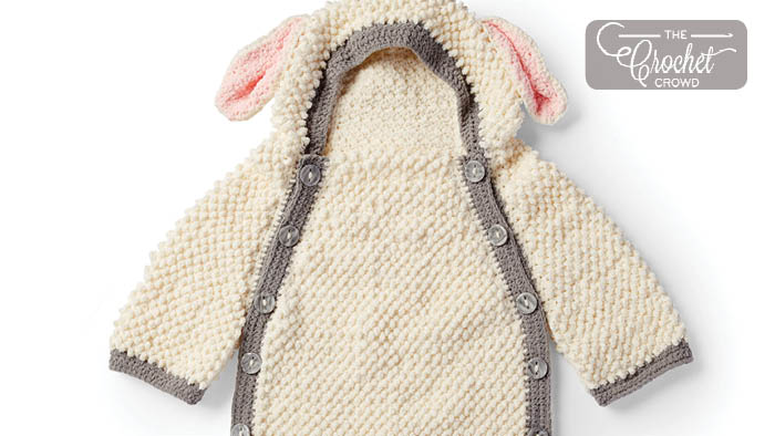 Crochet Yawn the Sheep Snuggle Sack Pattern