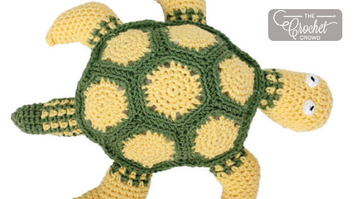 Crochet Zippy The Sea Turtle