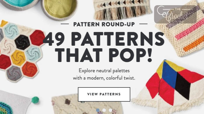 49 Crochet and Knit Patterns that POP!