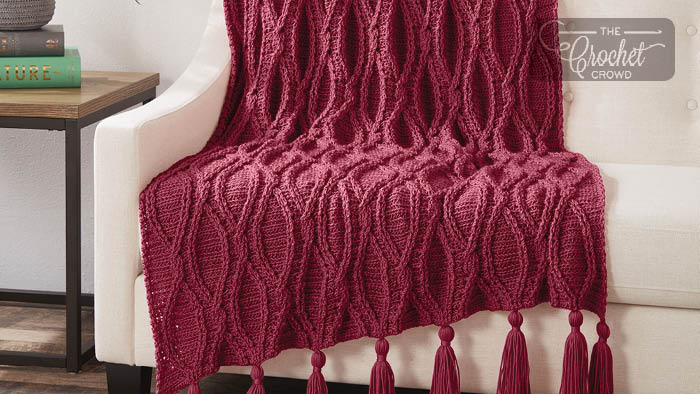 Crochet Cables Afghan Pattern