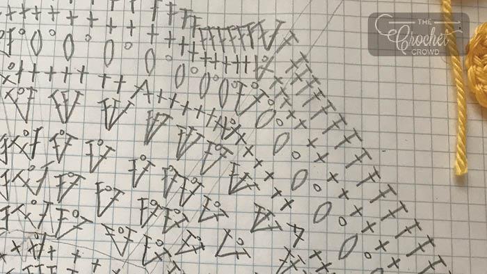 Crochet Diagram Drawing
