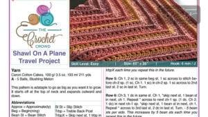 Designing PDFs for Crochet Designers